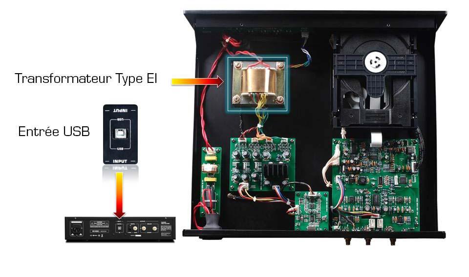 EX622.1 Tech02 octave son lecteur cd bc acoustique