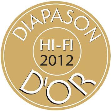 Znalezione obrazy dla zapytania diapason-d'or Hifi 2012