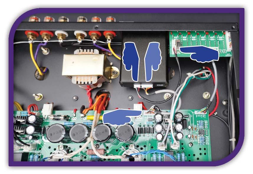 EX PHONO-3x bc acoustique Installation, octave-son
